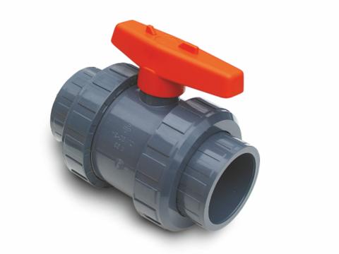 PVC išardomas ventilis PN10 (SL x SL)