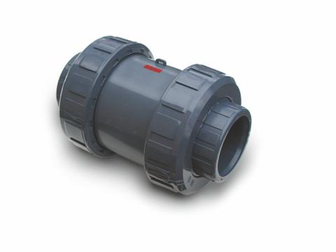 PVC spyruoklinis atbulinis vožtuvas  (SL x SL) PN10